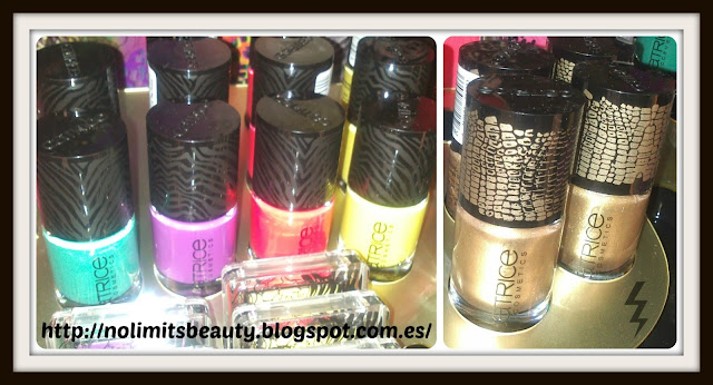 Glamazona de Catrice - Ultimate Nail Colours & Crackelador Cocodrilo