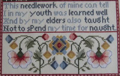 Esta labor mía puede decir que yo en mi juventud aprendí bien y, también, que mis mayores me enseñaron a no malgastar mi tiempo.