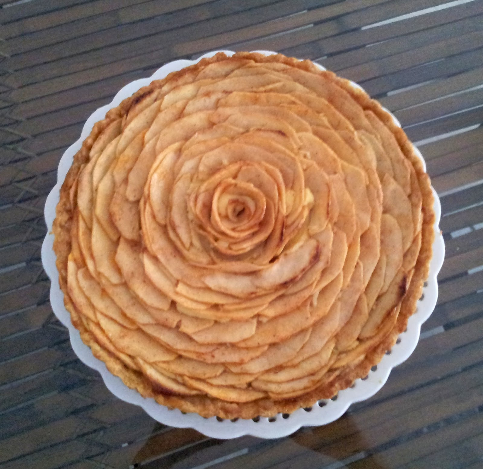 Culinary Kitchenette French Apple Tart By Karen Yee