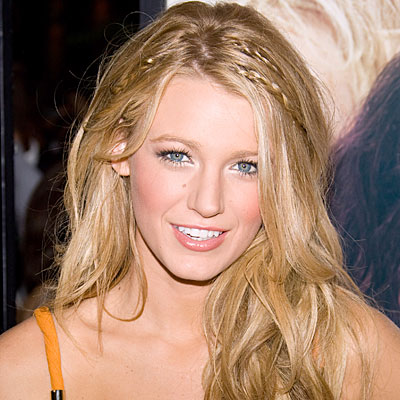Blake Lively Hairstyle on Plaited Hairstyles   Celebrity Hairstyle Ideas For Girls