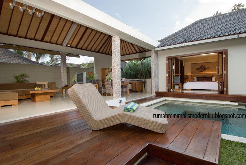 Foto Villa Di Bali Desain Rumah Minimalis