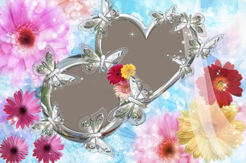 Frame Free Weding Love