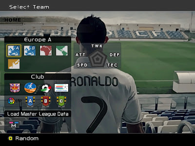 New Background PES 2013 For PES 6