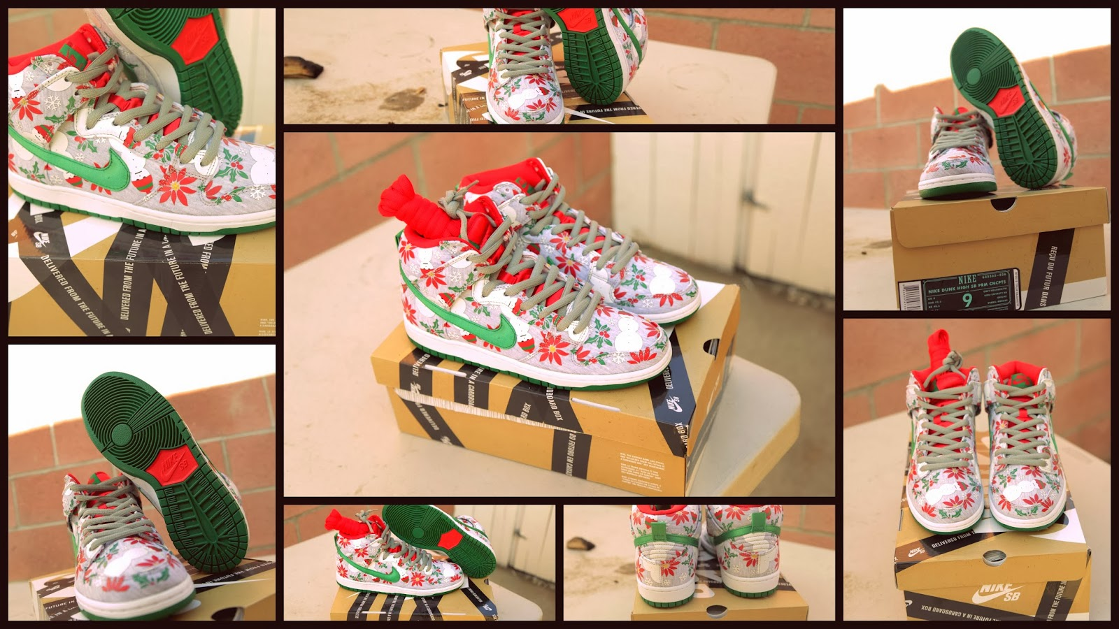 Sole Fiendz: Nike SB Dunk High UGLY CHRISTMAS SWEATER Review Coming Soon