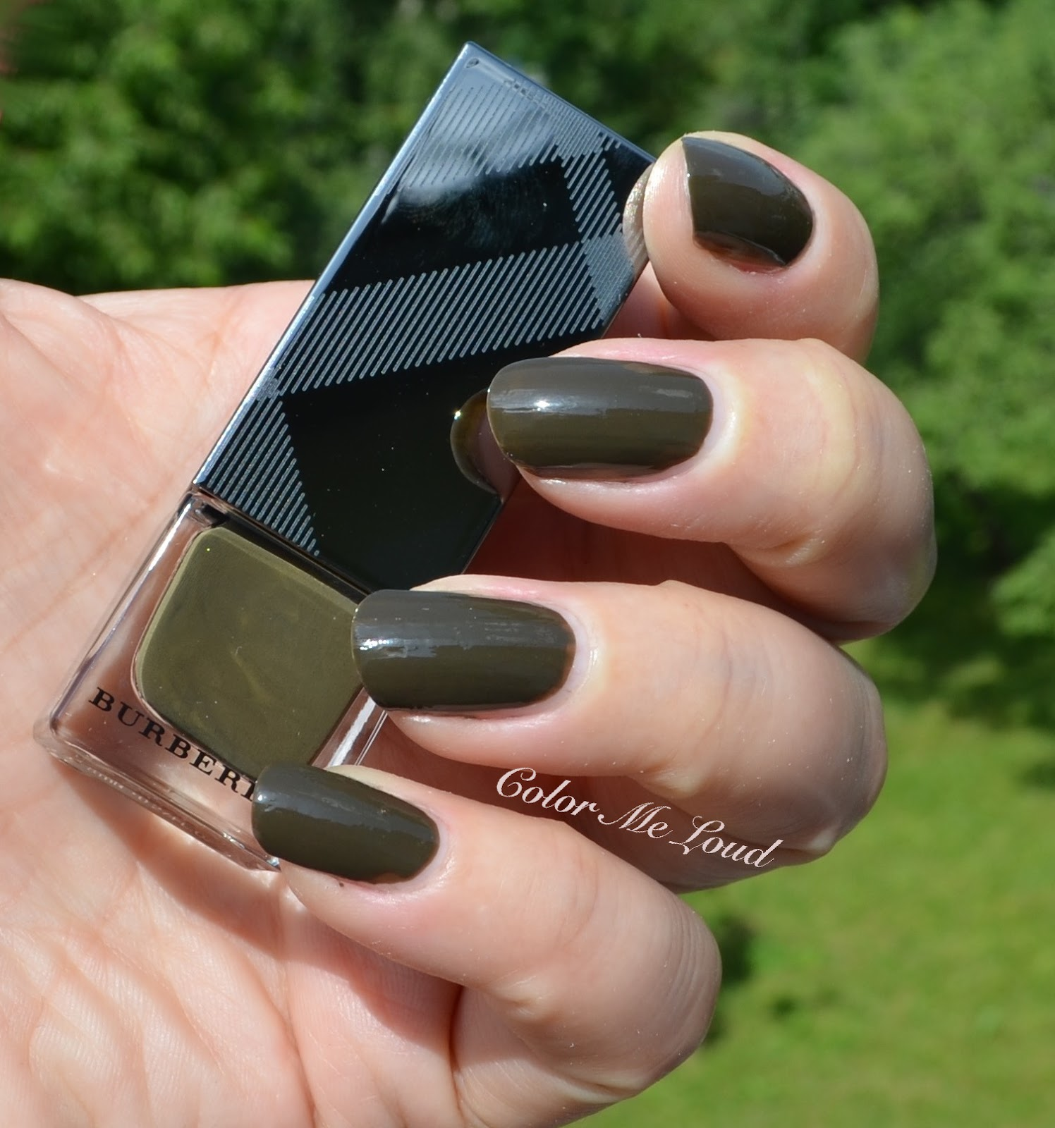 Burberry Nail Polish #205 Khaki Green, #206 Cadet Green and #299 ...