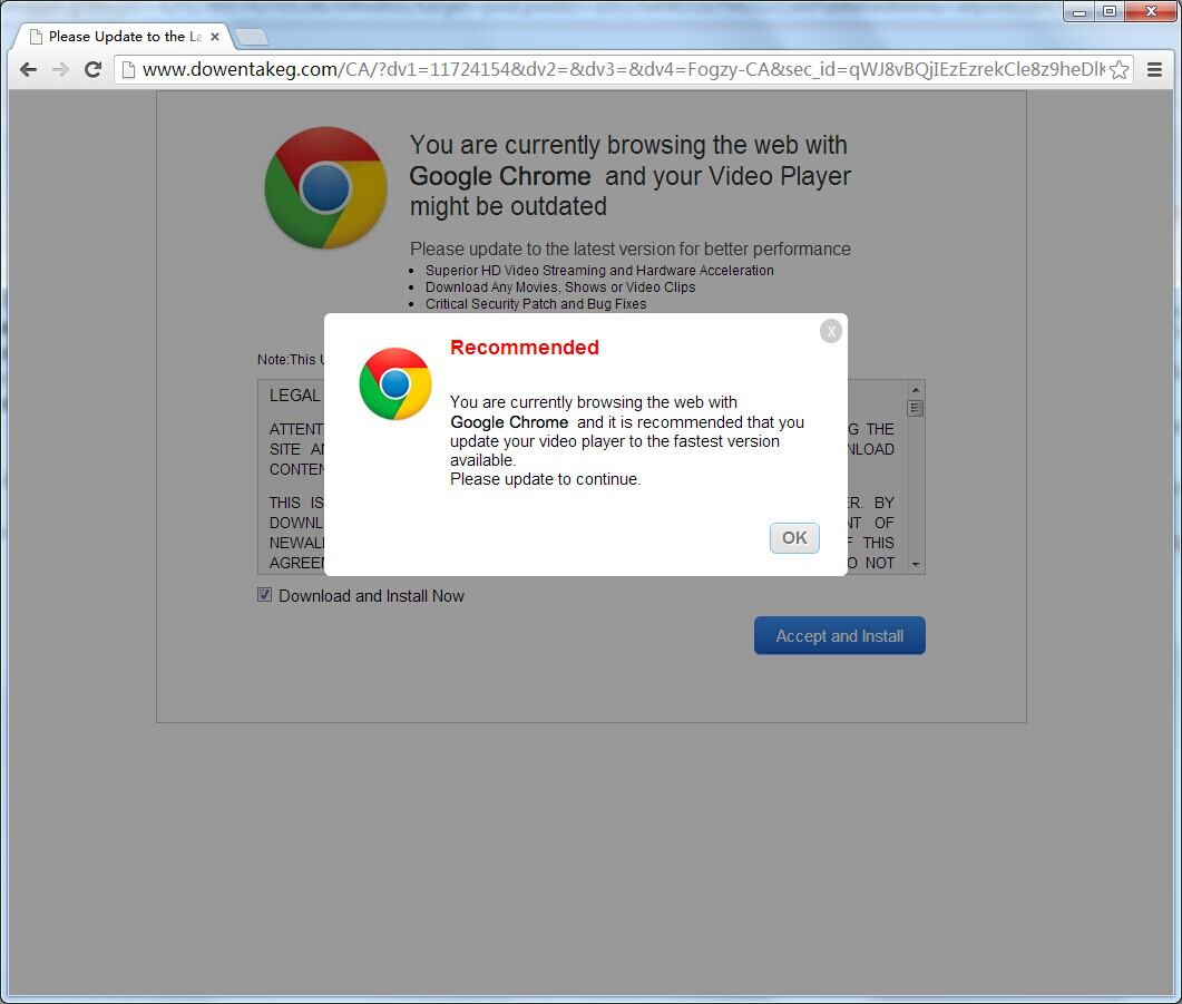 chrome how to change default application to play movie