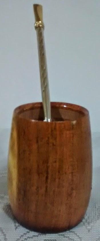 Mate de madera - S/ 45.00