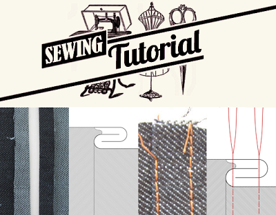 flat-felled seam tutorial