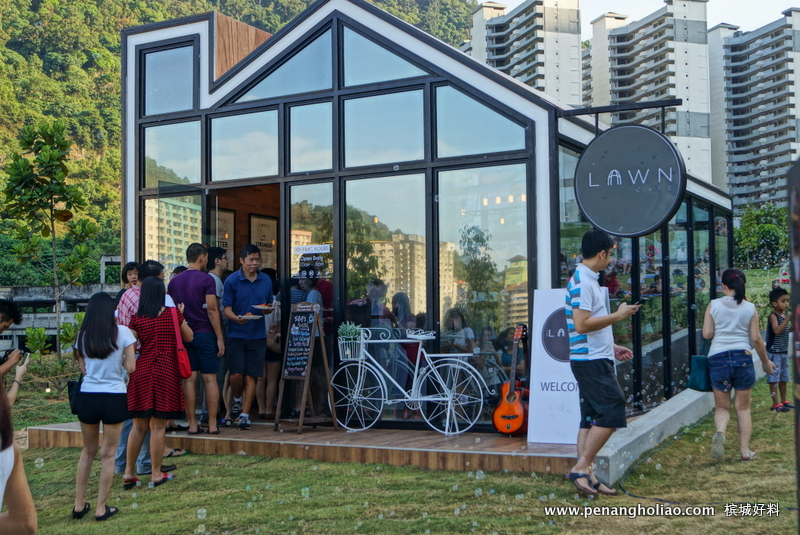 The lawn cafe eco terraces paya terubong penang for 7 terrace penang