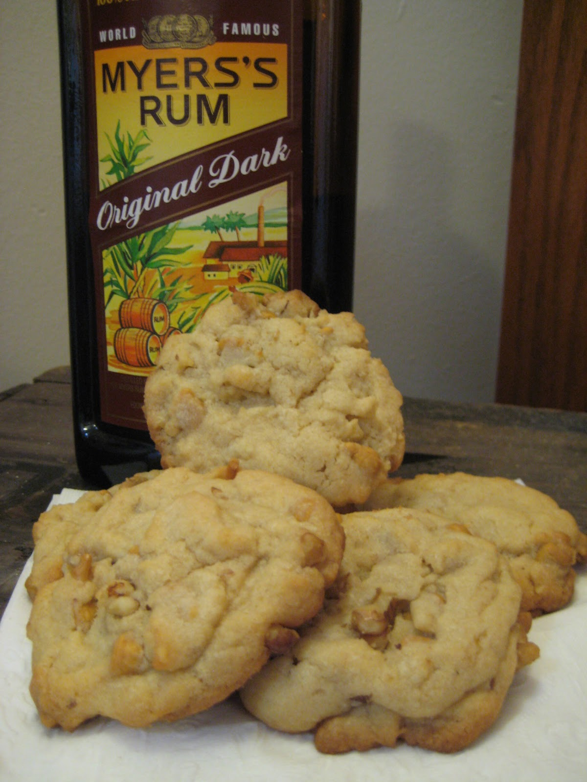 The Lush Chef Rum Butterscotch Chip Cookies