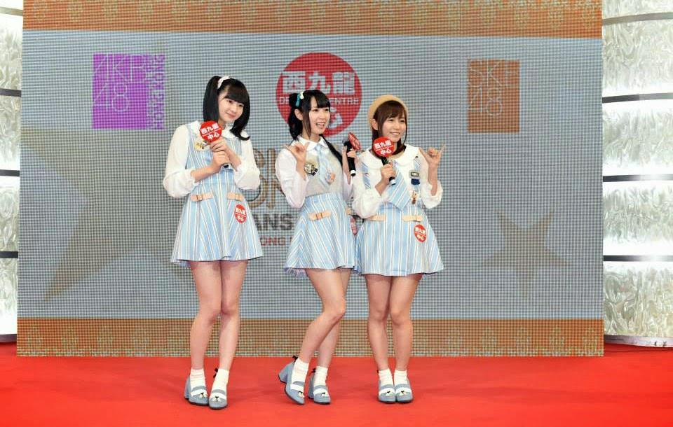 Ego Yuna Oba Mina dan Takayanagi Akane Berpatisipasi Dalam Event Jumpa Fans di Hongkong