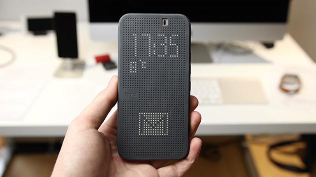 เคส Dot View สำหรับ M9 Plus - 138005 สีเทา
