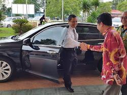 Selamat Datang Pegawai Daerah Pontian, Tn Hj Onn Bin Jabbar