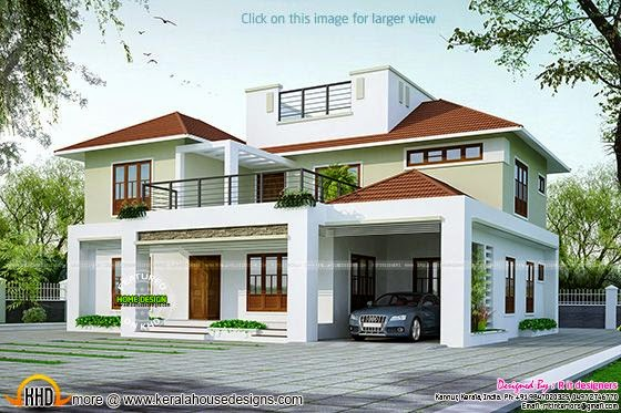 2630 sq ft car porch 195 sq ft no of bedrooms 4 attached bathrooms 4 ...