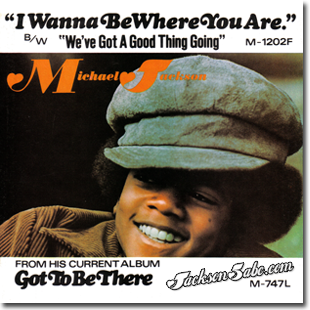 Michael Jackson - I Wanna Be Where You Are - copertina traduzione testo video download