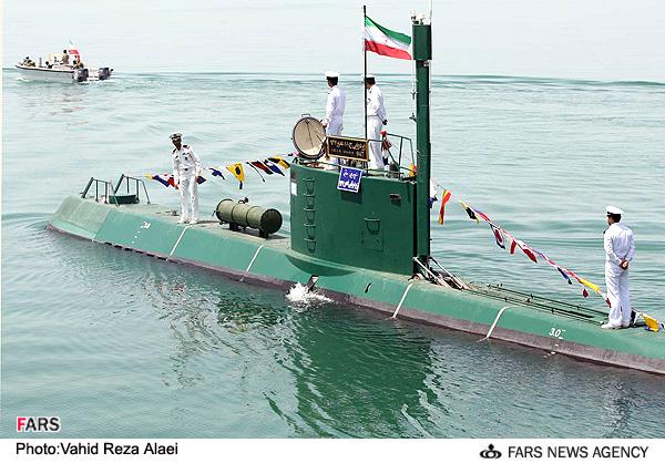 Irã testará novo submarino Iranian+mini+sub