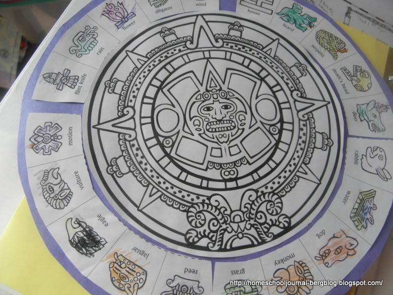 Aztec Calendar Art Lesson Plan : All things beautiful the aztecs