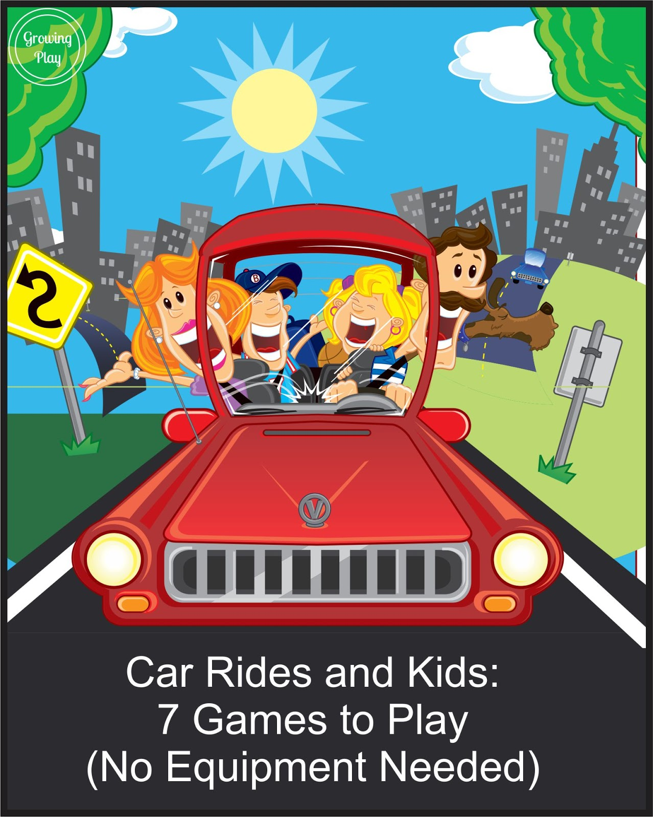 car rides and kids 7 games to play no equipment needed