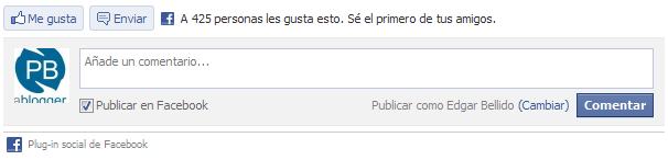 Comentario facebook