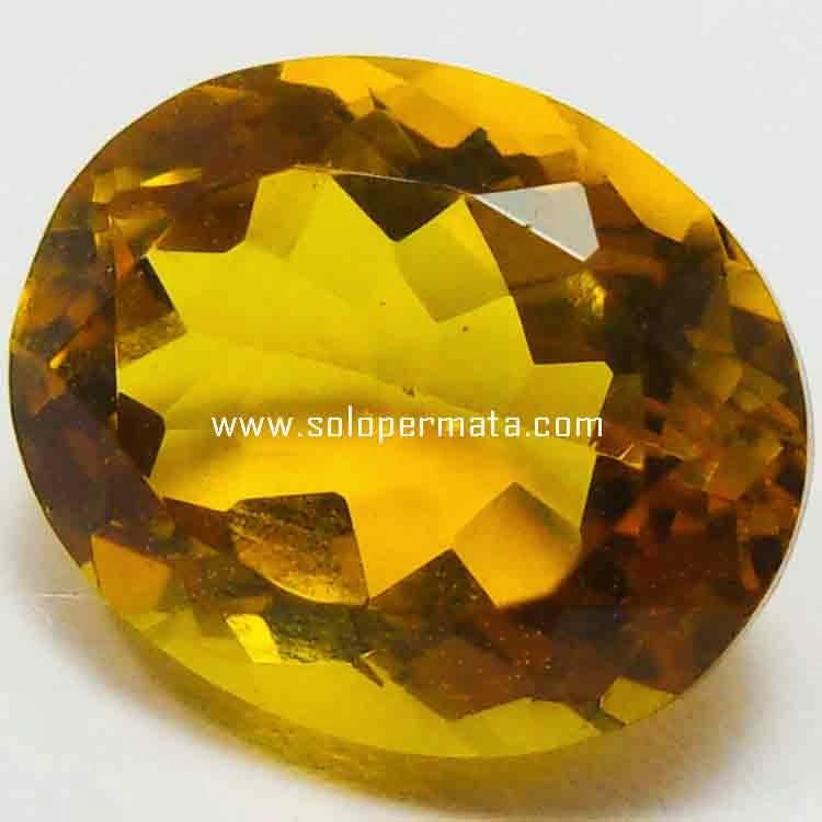 Batu Permata Golden Citrine - 26B03