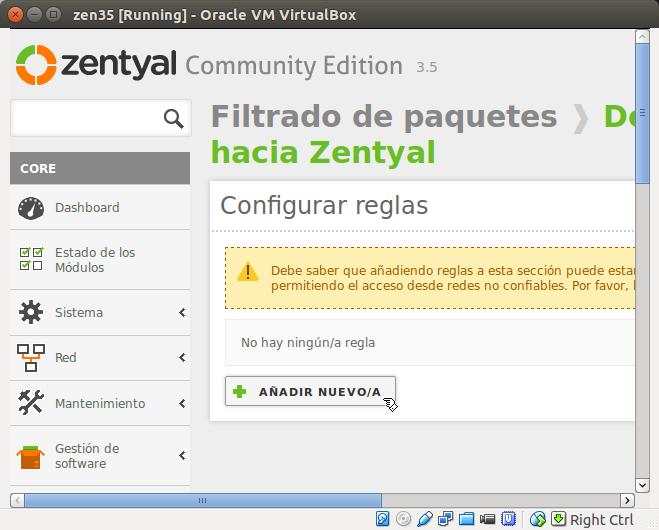 DriveMeca instalando Zentyal 3.5 paso a paso