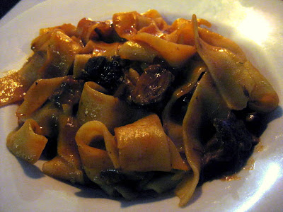 Pappardelle al Cinghiale at Trattoria La Grotta della Rana in San Sano, Italy - Photo by Taste As You Go