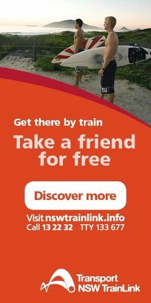 NSW TrainLink Promo