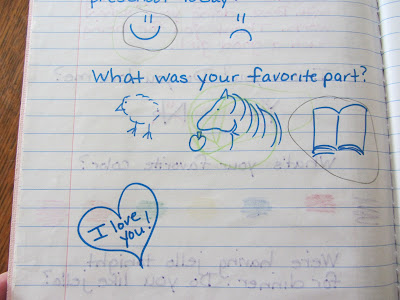 Mommy and Me Journal Excerpt