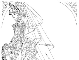 Barbie Doll Coloring Pages Games