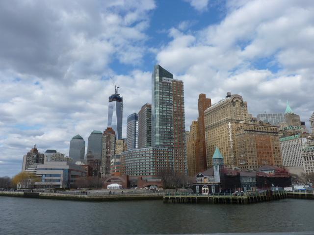 Vistas de Nueva York desde un crucero