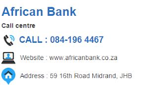 African Bank Customer Service Number South Africa