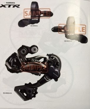 Shimano XTR RD-M9000 Shadow+, SL-M9000