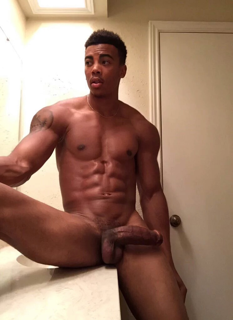 straight black male models nude