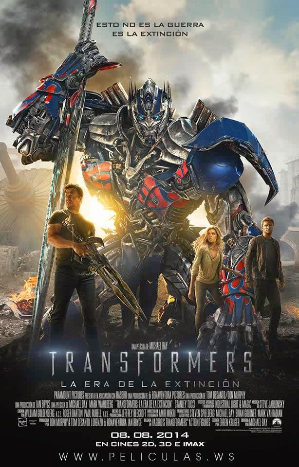 Ver Transformers 4 (2014) Online