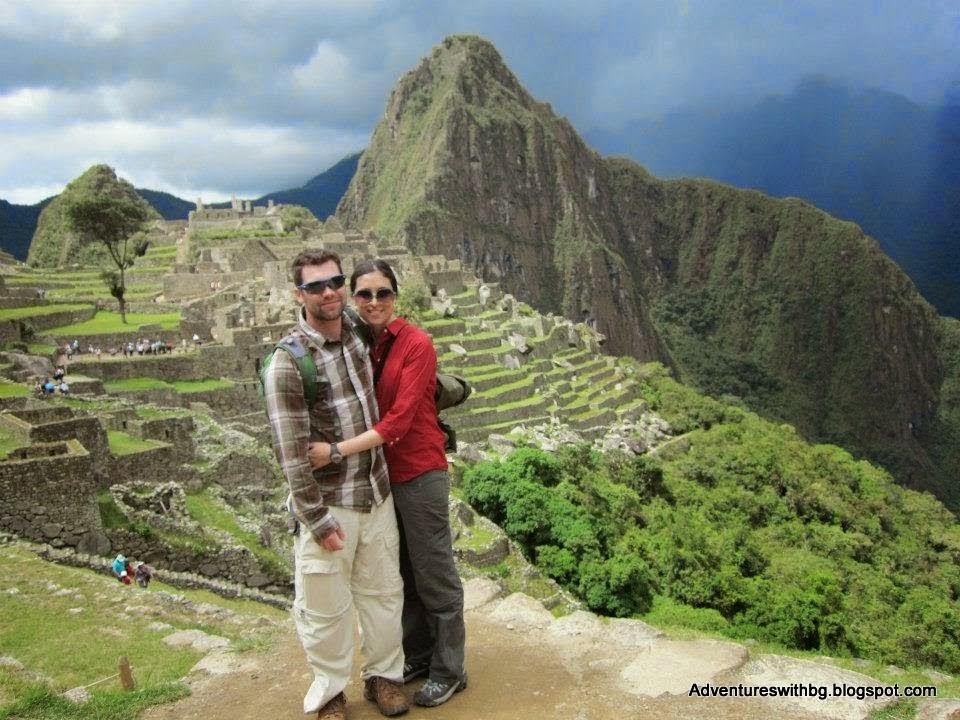 on Macgu Picchu