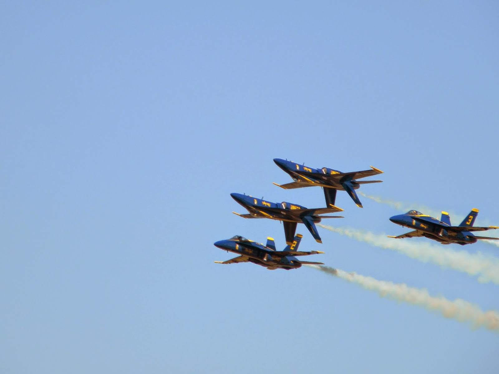 Blue Angels inverted