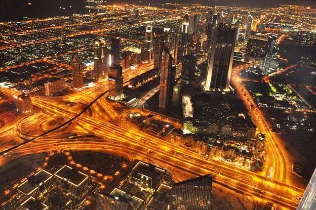 The world's tallest tower, Burj Khalifa