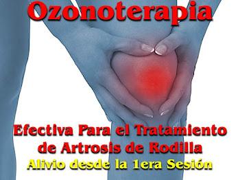 OZONOTERAPIA EN ARTROSIS DE RODILLA