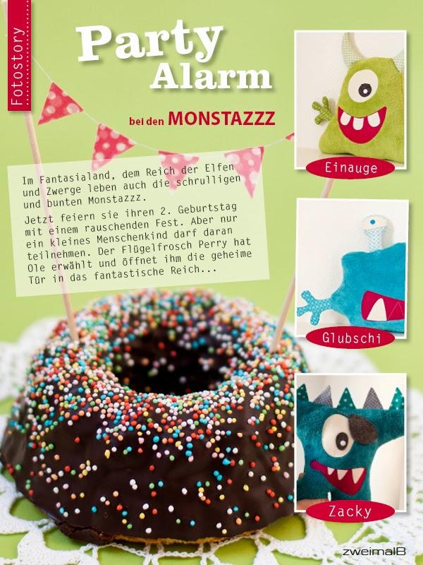 zweimalB :: Party-Alarm bei den Monstazzz Teil 1 :: Fotostory für den Großen Monstazzz Contest von aprilkind
