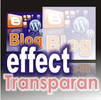 Contoh efek transparan pada gambar yang dipasang pada blog. Gambar akan kembali terlihat jelas apabila pointer mouse diletakkan diatas gambar. (Gambar tidak terlihat? Klik kanan tulisan ini, lalu pilih