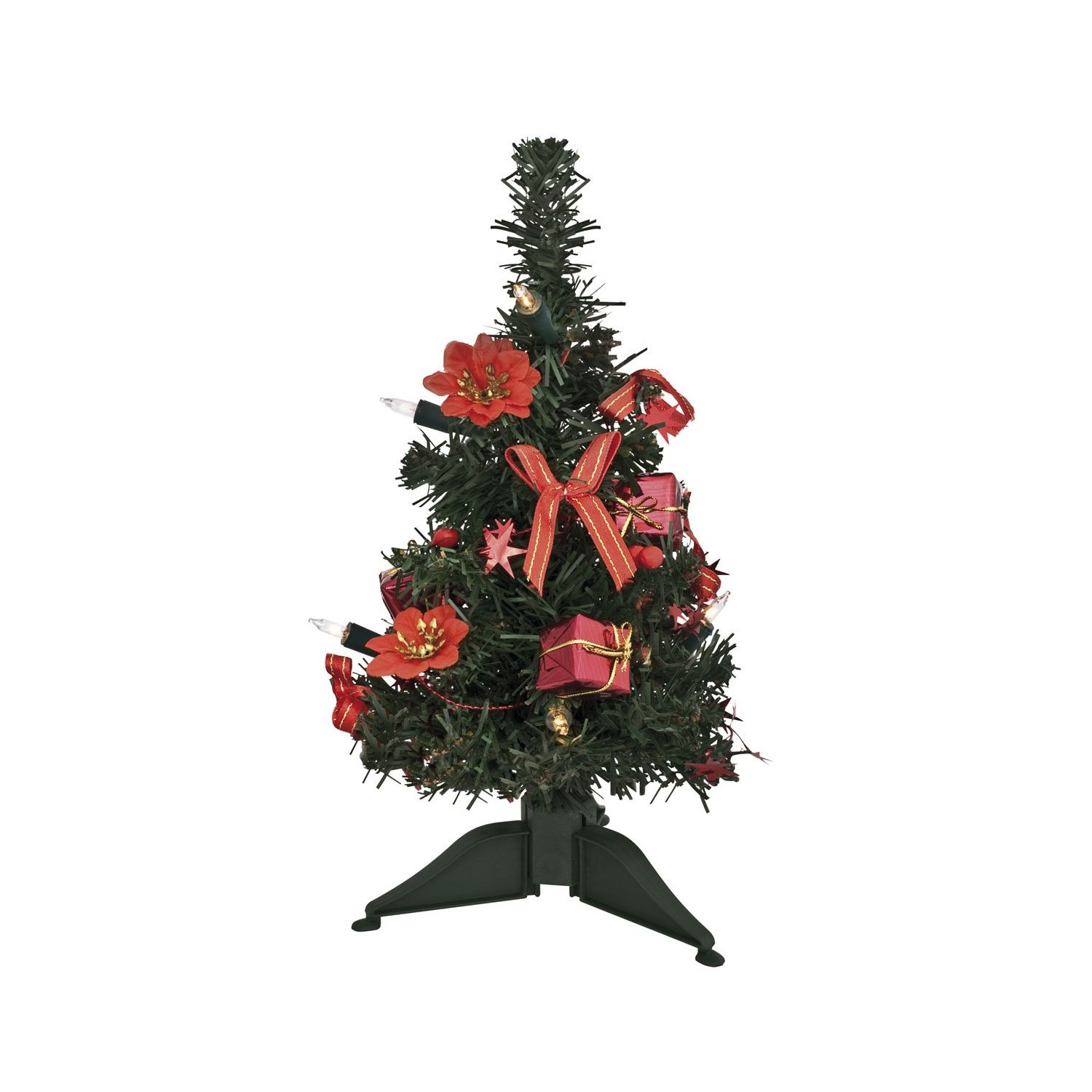 weihnachtsb ume sonstiges mini weihnachtsbaum 30cm komplett geschm ckt mit lichterkette. Black Bedroom Furniture Sets. Home Design Ideas