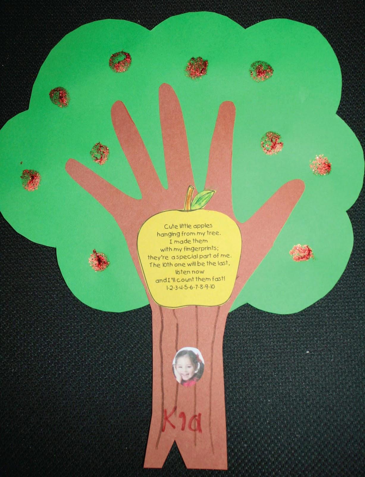 Apple Tree Classroom Ideas ~ Classroom freebies keepsake apple tree quot craftivity