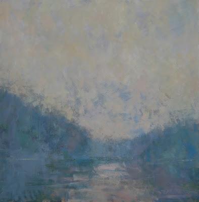 Impressionist landscape painting by artist Steve Allrich.