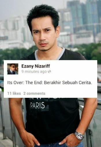 Its over the end Berakhir sebuah cerita Ezany