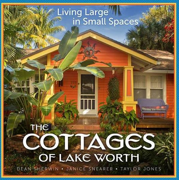 "Six easy ways to stop by and ""thumb through"" The Cottages of Lake Worth hardcover book:"