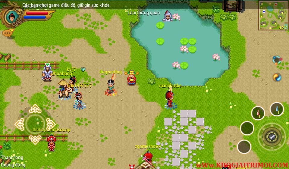 Tải game Khí Phách Anh Hùng phiên bản mới nhất cho điện thoại