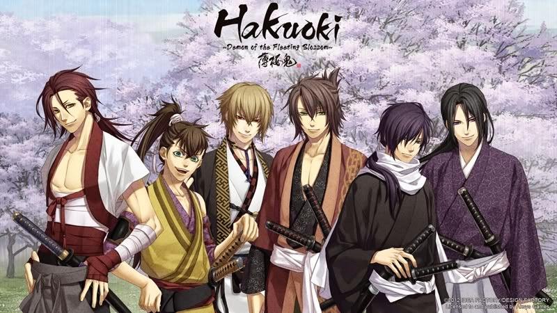 Resultado de imagen para Hakuōki: