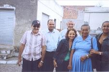 Zefa da Guia, Dra. Eugenia presidente da APESE em visita a comunidade Serra da Guia.