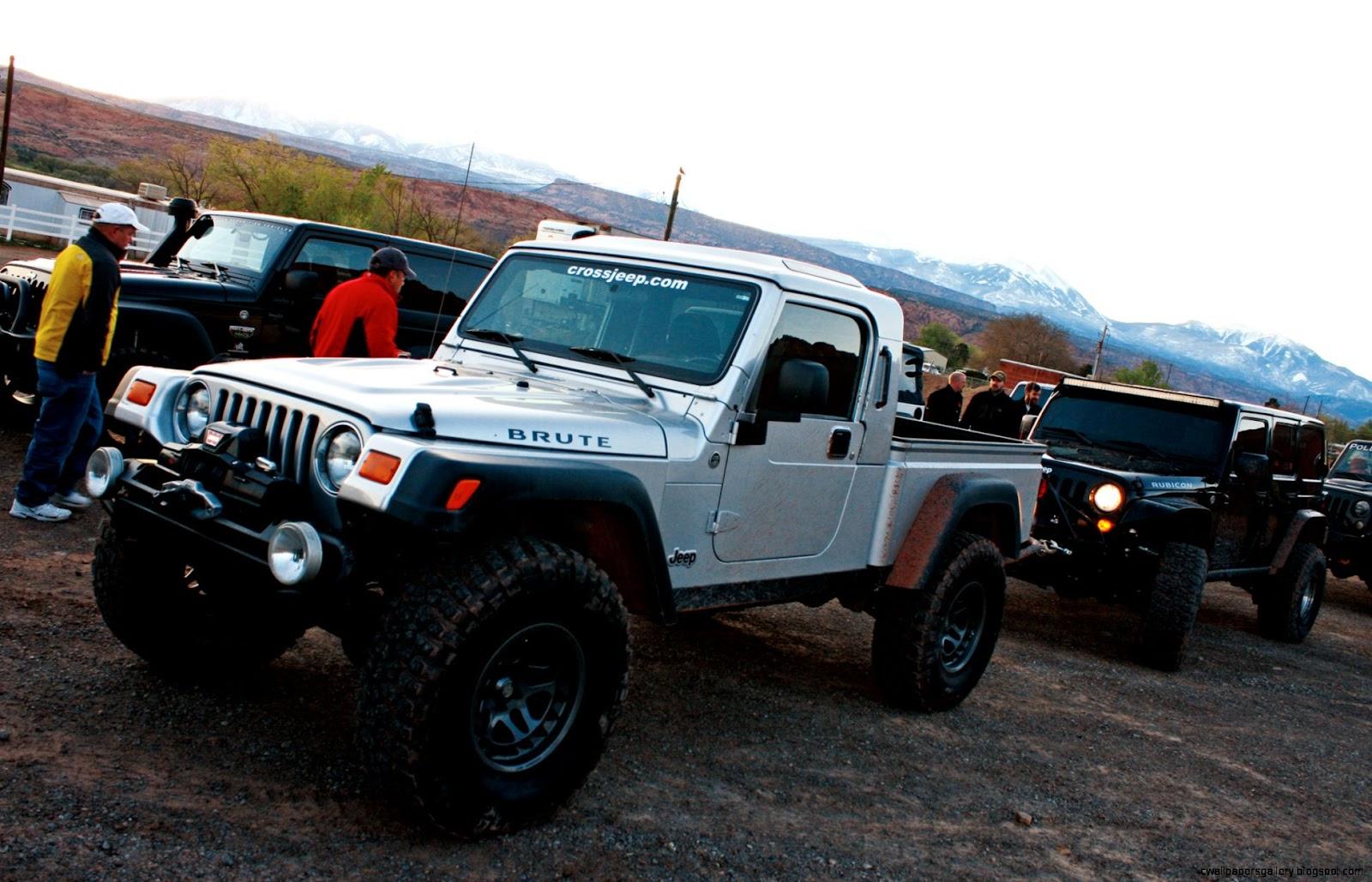 Jeep Wrangler AEV Brute