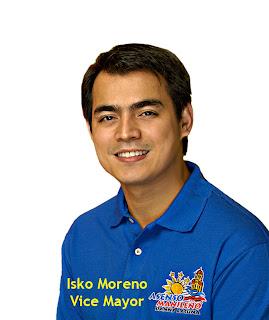 Thank You, Manila Vice Mayor Isko Moreno